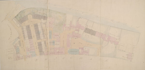 Drawn Plan of Whitehall